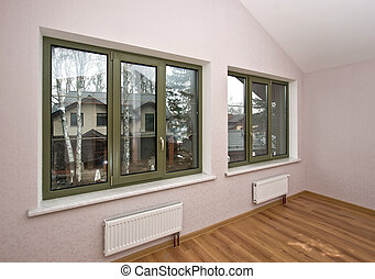Fiberglass windows with decorative elements - Fiberglass...