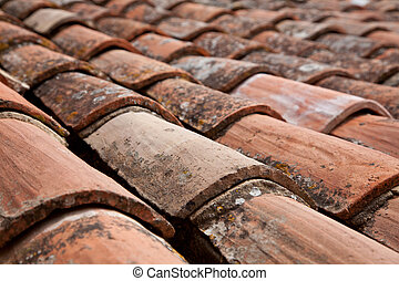 Roofing tiles - Traditional provencal roofing tiles....
