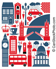 London Symbols Collection - A set of London symbols and...