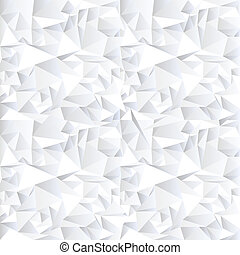 White crystal abstract background.Vector eps10