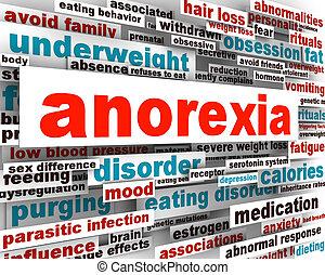 Anorexia disorder design