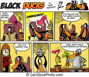 Black Ducks Comics episode 75 - Black Ducks Comic Story...
