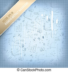 Abstract successful business background. Vector, EPS 10