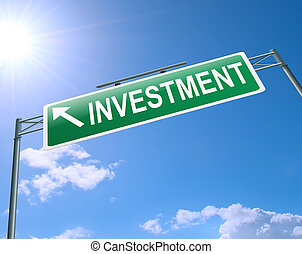 Investment concept.