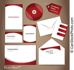 Business style templates for your project design, Vector...