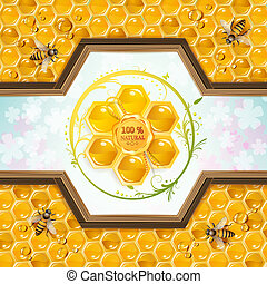 Honey and bees