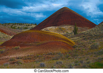 Red Hill, Painted Hills, Oregon