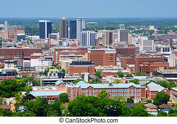 Downtown Birmingham, Alabama - Skyline of downtown...