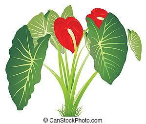 Nature Leaf Background - Vector illustration of Nature Leaf...