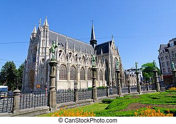 Notre Dame du Sablon in Brussels, B - Notre Dame du Sablon...