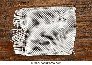 fiberglass cloth patch - a patch of fiberglass cloth on a...