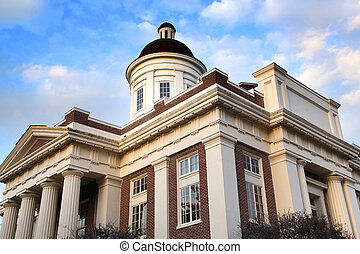 Historic Court house - Historic Madison county court house...