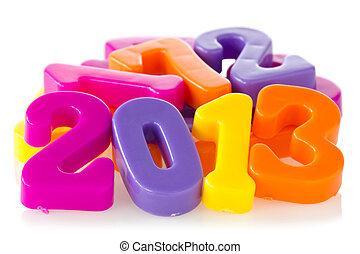 couleur, nombres, Spectacles, année, 2013