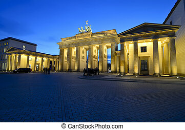 brandenburger tor berlin - brandenburger tor in berlin,...