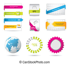 special download buttons and banners for your website