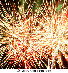 gyönyörű, tűzijáték