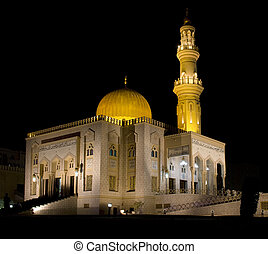 Zawawi Mosque Muscat, Sultanate of Oman.