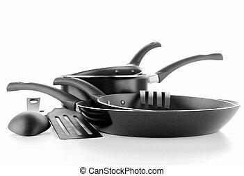 set utensils kitchen