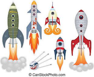foguete, lançamento