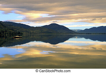 Skaha Lake Morning - It was a wonderful surprise when we...