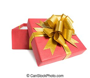 Fancy box Isolated on white background