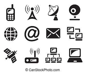 Communication icons - Communication icon set