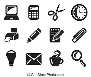 Office icons - Office icon set