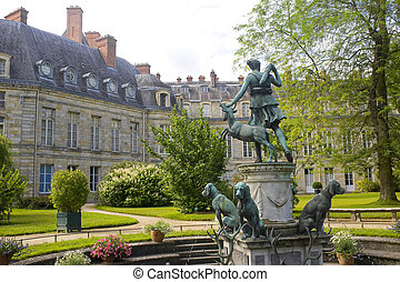 Fontainebleau Seine-et-Marne, Ile-de-France, France - A...