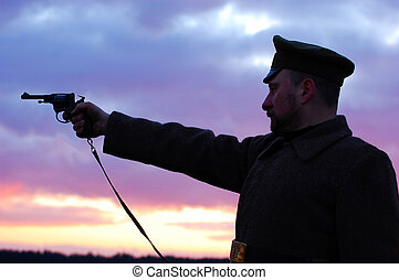 soldier 1918 - reenactment