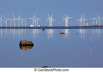 Future watch - Wind generators, producing clean power In...