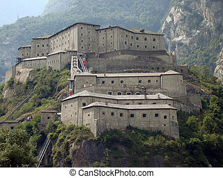 Bard Fortress - Fortress of Bard, Aosta Valley, Italy