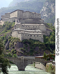 Bard Fortress 2 - Fortress of Bard, Aosta Valley, Italy