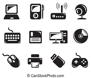 Hardware icons - Hardware icon set