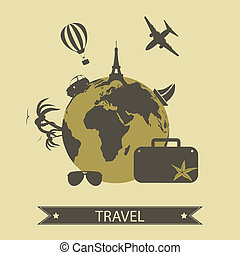Travel - Vector travel icons