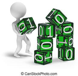 Building digital home 3d - 3d character building digital...