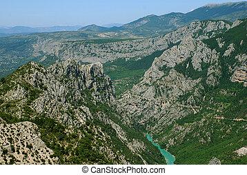 Verdon - les gorges du verdon in the South of France...