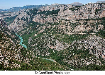 Verdon - les gorges du verdon in the South of France...