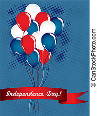 The balloons of independence