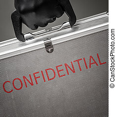 Confidential briefcase