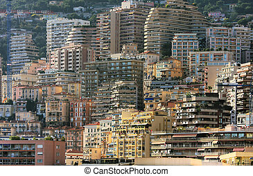 Houses of Monte Carlo.