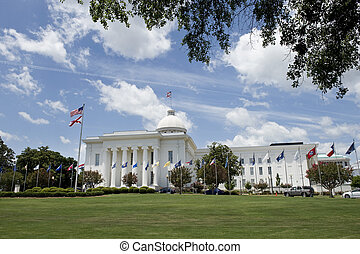 Alabama State Capitol - State capitol of Alabama in city of...
