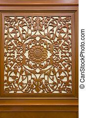 wood decorative design