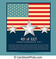 american independence day - amercian independence day vector...