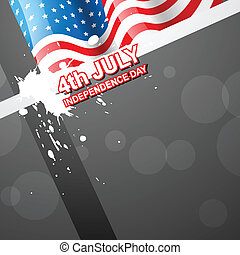4th of july american independence day - vector 4th of july...