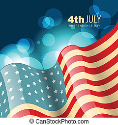 american flag vector - amercian independence day vector flag...