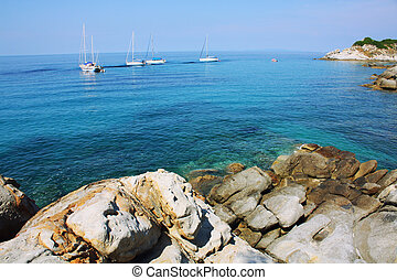 Elba Island - The beach of the Island of Elba, Tuscany