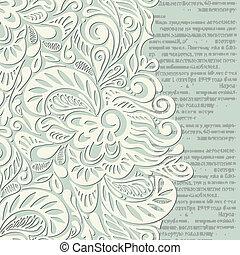 Shabby vintage wallpaper background-model for design of gift...