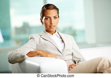 Elegant businesswoman - Image of an elegant business lady...
