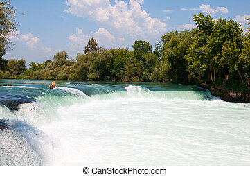 Manavgat Waterfall Turkey, Antalya Province