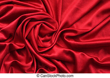fabric folds - Luxurious deep satin/silk folded fabric,...